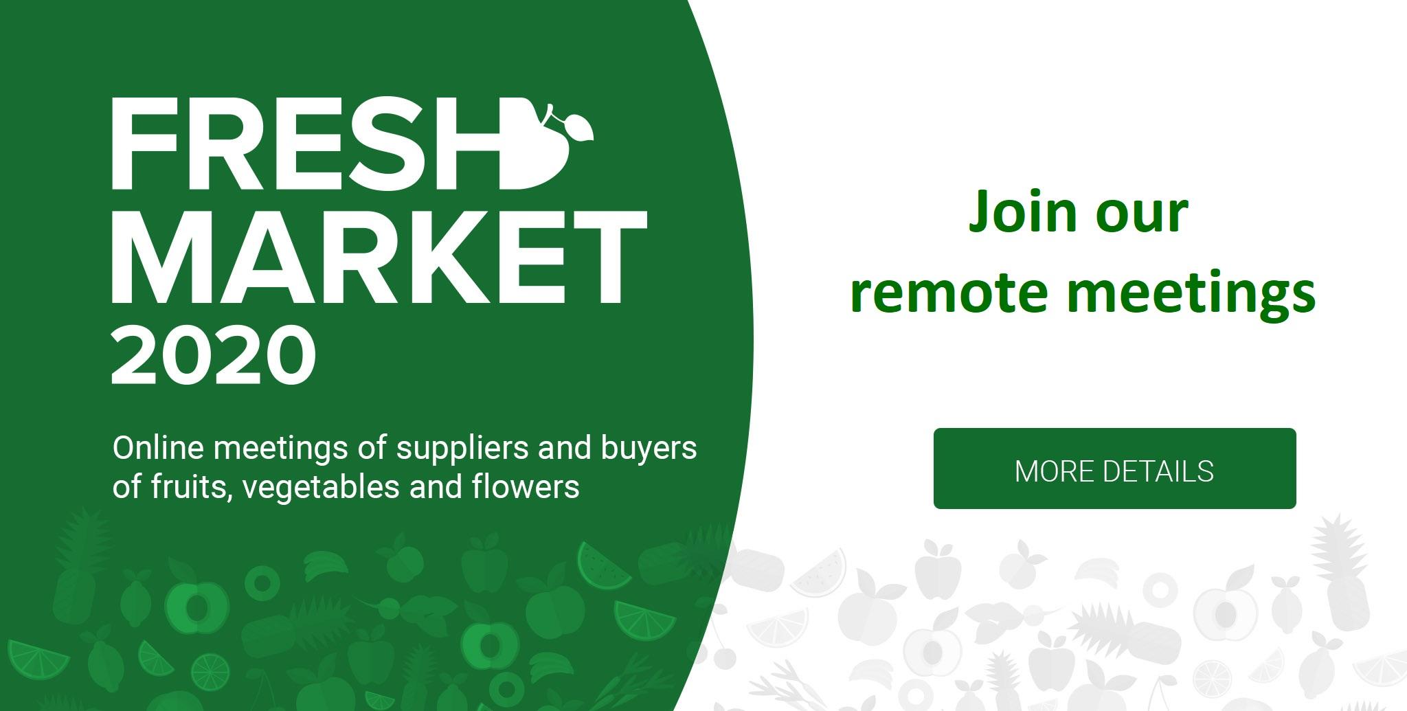 Fresh Market Online Meetings